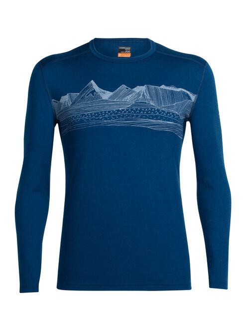 Oasis Long Sleeve Crewe Pyrenees