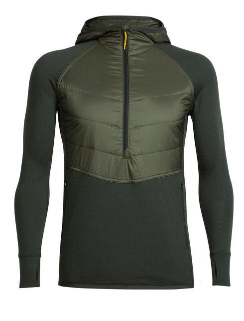 MerinoLOFT Ellipse Long Sleeve Half Zip Hood