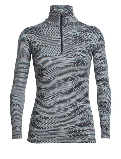 Vertex Long Sleeve Half Zip Flurry
