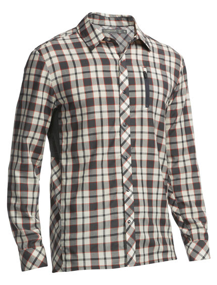 Compass Long Sleeve Shirt Plaid