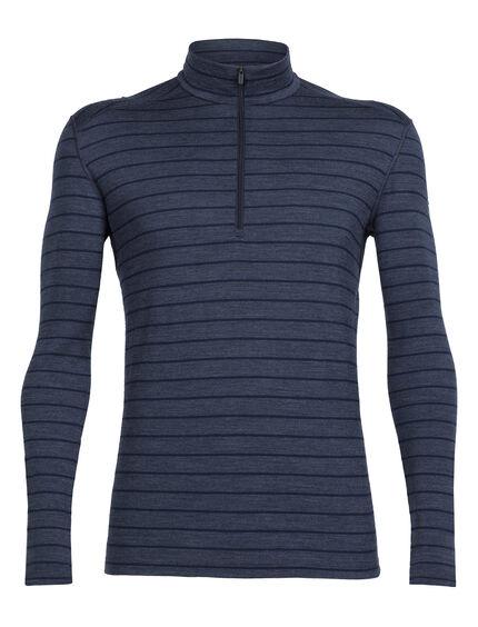 Oasis Long Sleeve Half Zip Stripe