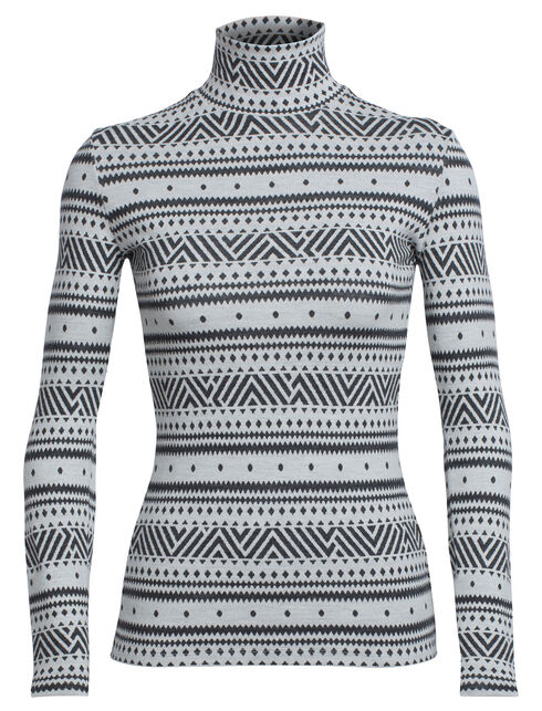 Vertex Long Sleeve Turtleneck Icon Fairisle