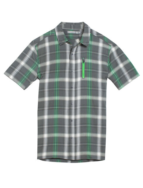 Cool-Lite Compass II Short Sleeve Shirt Plaid