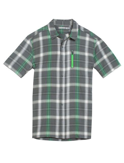 Cool-Lite Compass II Short Sleeve Shirt Plaid