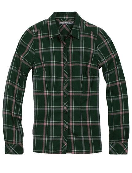 Laurel Long Sleeve Shirt Plaid