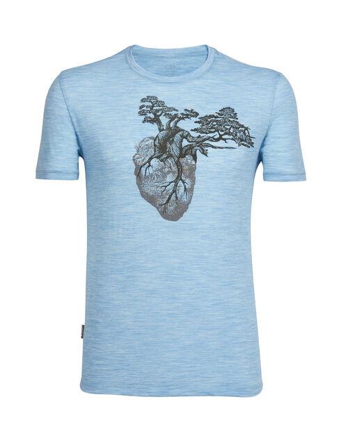 Tech Lite Short Sleeve Crewe Rock Heart