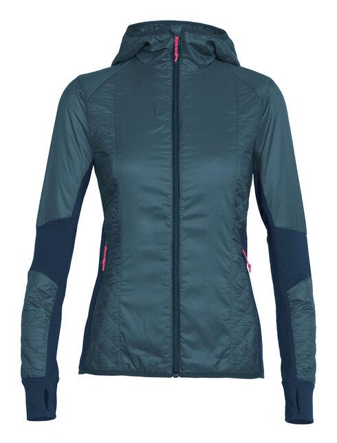 Women's MerinoLOFT Helix Long Sleeve Zip Hood
