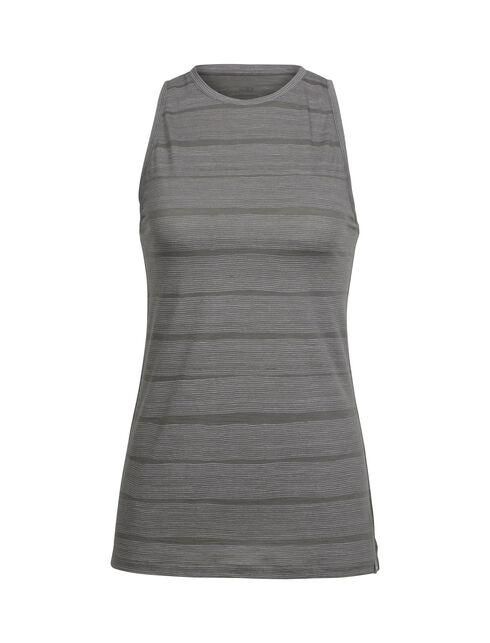 Aria Sleeveless Combed Lines
