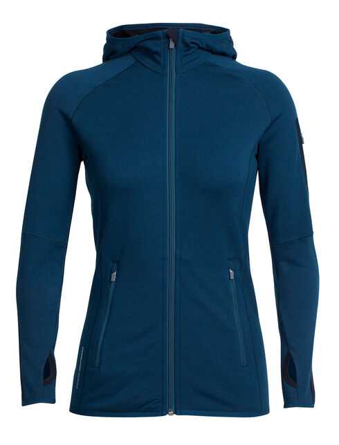 RealFLEECE Atom Long Sleeve Zip Hood