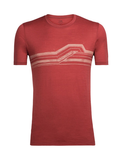 Tech Lite Short Sleeve Crewe Seismic Stripe