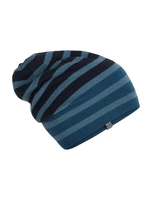 Stripe Slouch Beanie