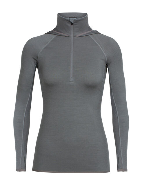 Fluid Zone Long Sleeve Half Zip Hood