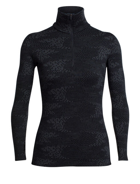 Vertex Long Sleeve Half Zip Flurry