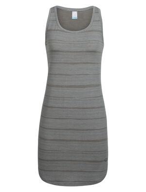 Cool-Lite™ Yanni Tank Dress Combed Lines