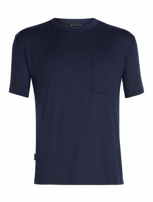 旅 TABI Tech Lite Laid-Back Short Sleeve Pocket Crewe