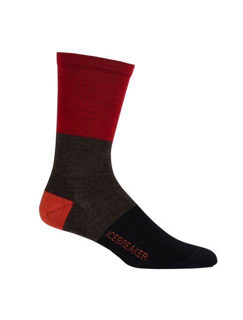 Lifestyle Ultralight Crew Rugby Stripe
