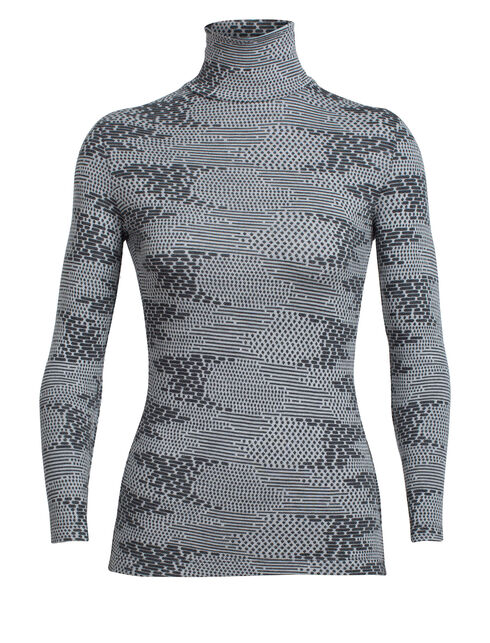 Vertex Long Sleeve Turtleneck Flurry