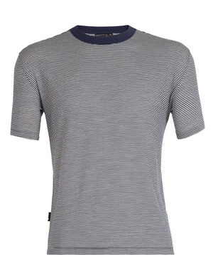 旅 TABI Luxe Lite Laid-Back Short Sleeve Crewe Stripe