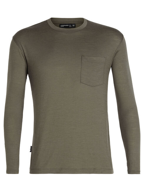 Tech Lite Long Sleeve Pocket Crewe
