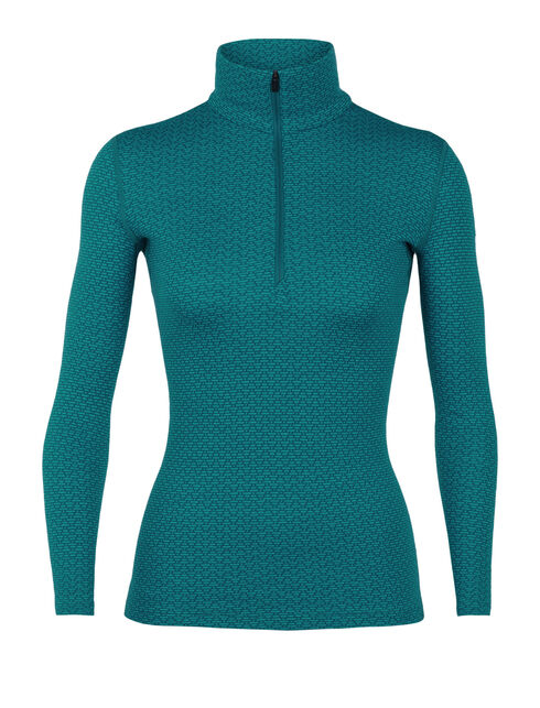 250 Vertex Long Sleeve Half Zip Mountain Dash
