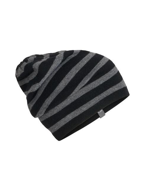 Unisex Stripe Slouch Beanie