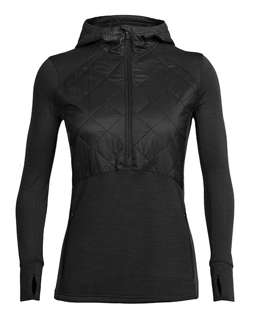 Women's Ellipse Long Sleeve Half Zip Hood